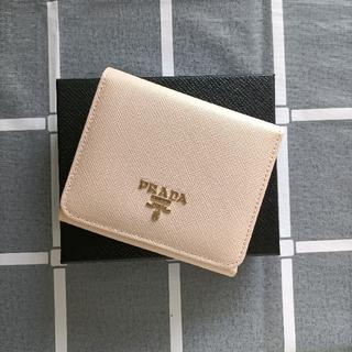 PRADA - 綺麗☆ピンク♥三つ折り財布 プラダ コインケース