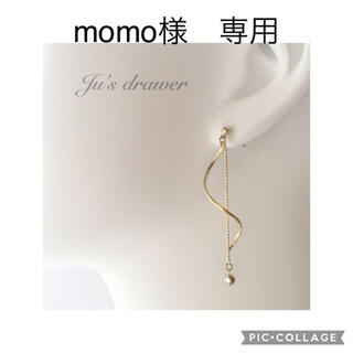 momo様 専用ページ(ピアス)