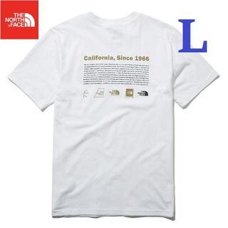 THE NORTH FACE - SALE! 海外 ノースフェイス Tシャツ 半袖 綿 ロゴ 白/L K156B