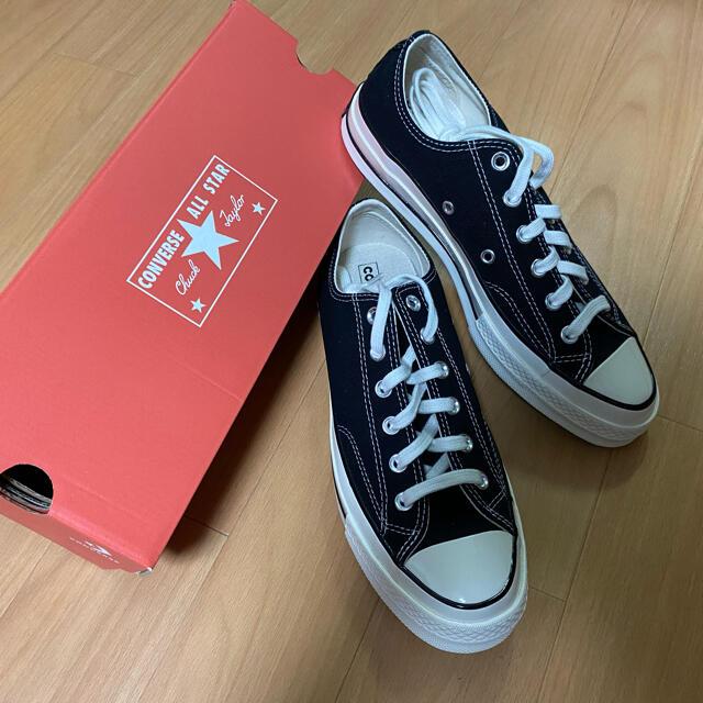 CONVERSE(コンバース)の【新品】ct70 27.5cm converse チャックテイラー ブラック メンズの靴/シューズ(スニーカー)の商品写真