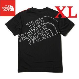 THE NORTH FACE - ラス1✨ 海外 ノースフェイス Tシャツ 半袖 メッシュ 黒/XL K136C