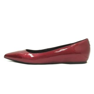 マックスアンドコー(Max & Co.)のマックス&コー フラット シューズ パンプス 赤 ボルドー 37 靴(ハイヒール/パンプス)