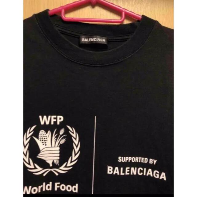 Balenciaga(バレンシアガ)の最終値下げBALENCIAGA WTF tシャツ サイズL メンズのトップス(Tシャツ/カットソー(半袖/袖なし))の商品写真