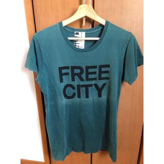 ハリウッドランチマーケット(HOLLYWOOD RANCH MARKET)のFREE CITY Tシャツ メンズ M フリーシティ ハリウッドランチ(Tシャツ/カットソー(半袖/袖なし))