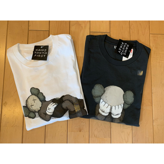 ユニクロ×カウズ Tシャツ Lサイズ2点セット!!