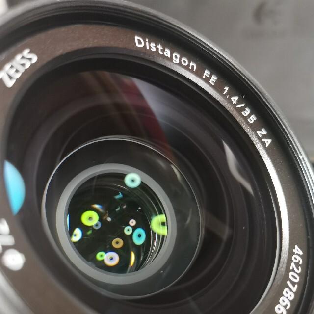 SONY(ソニー)のSONY フルサイズレンズ FE 1.4/35  スマホ/家電/カメラのカメラ(レンズ(単焦点))の商品写真