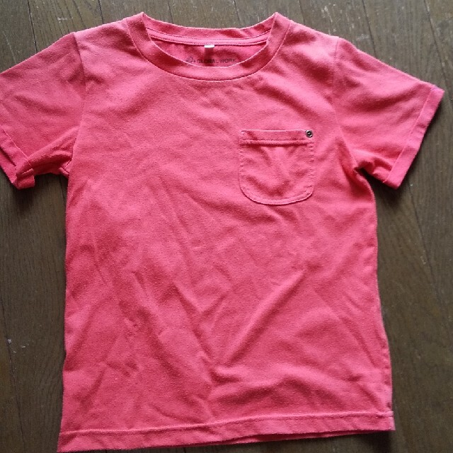 GLOBAL WORK(グローバルワーク)のXL GLOBAL WORK 半袖 赤 キッズ/ベビー/マタニティのキッズ服男の子用(90cm~)(Tシャツ/カットソー)の商品写真