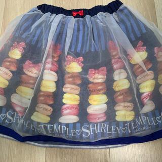 Shirley Temple - シャーリーテンプルマカロンスカート120センチ