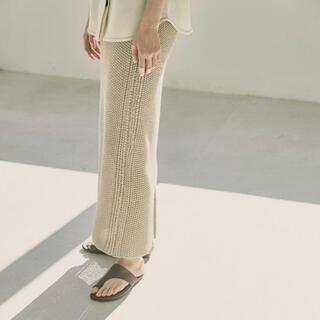 TODAYFUL - TODAYFLUトゥデイフル Line Knit Skirt