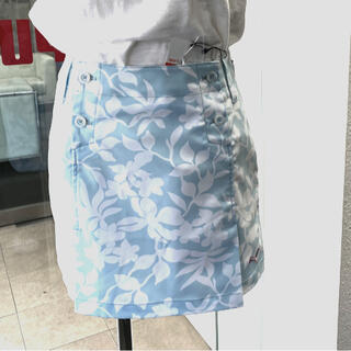 PUMA - puma花柄スカートLサイズ