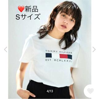TOMMY HILFIGER - 【新作・新品】トミーヒルフィガー オンライン限定 Tシャツ ユニセックス S