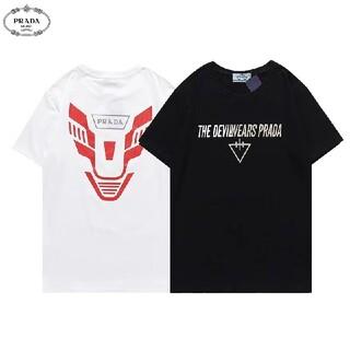 PRADA - 男女兼用☆2枚8000円☆PRADA178#☆Tシャツ新品☆プラダ☆在庫処分