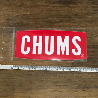 チャムス(CHUMS)のCHUMS ロゴステッカー 13cm(その他)