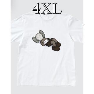 UNIQLO - KAWS UNIQLO Tシャツ 4XL ホワイト white