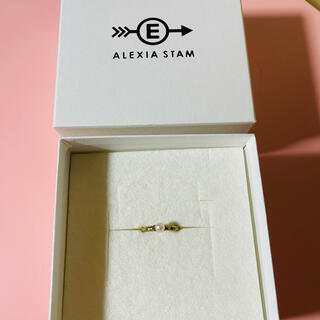 アリシアスタン(ALEXIA STAM)の♡アリシアスタン パールゴールドリング♡(リング(指輪))