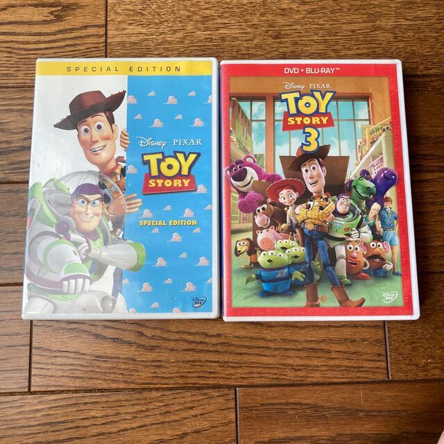 DVD TOY STORY 1・3 2本セット エンタメ/ホビーのDVD/ブルーレイ(キッズ/ファミリー)の商品写真