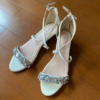 ESPERANZA - エスペランサ ESPERANZA サンダル 靴 シューズ ビジュー