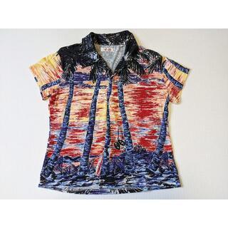 ハリウッドランチマーケット(HOLLYWOOD RANCH MARKET)のHRM ハリウッドランチマーケット アロハシャツ 2(M) 半袖シャツ (シャツ/ブラウス(半袖/袖なし))
