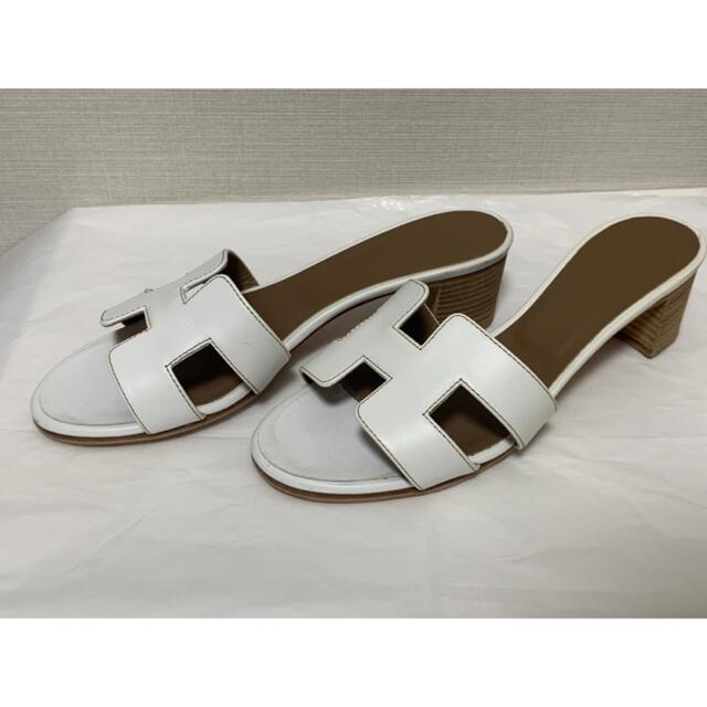 Hermes(エルメス)のHermes エルメス Oran オラン サンダル レディースの靴/シューズ(サンダル)の商品写真