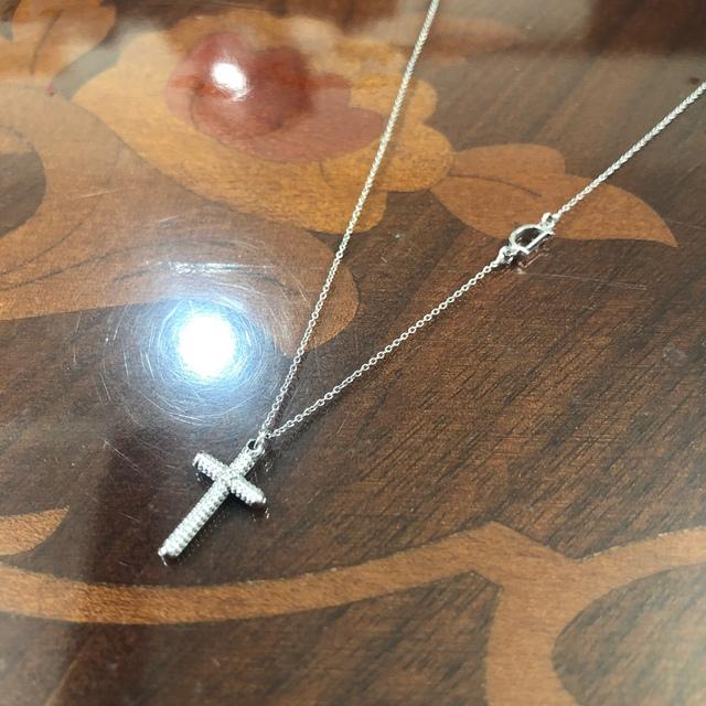 Damiani(ダミアーニ)のダミアーニ   クロス メトロポリタン 2Pダイヤモンド ネックレス  美品  メンズのアクセサリー(ネックレス)の商品写真