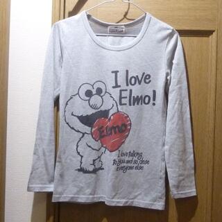 セサミストリート(SESAME STREET)のセサミストリート エルモのTシャツ(長袖) サイズM <a858>(Tシャツ(長袖/七分))
