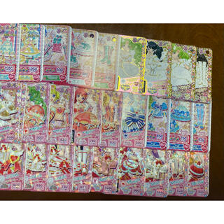 タカラトミーアーツ(T-ARTS)のプリパラ ラブリー プロモプリチケまとめ売り、バラ売り(シングルカード)