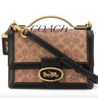 COACH - 新品 コーチ ショルダーバッグ ライリートップハンドル 斜めがけ ハンドバッグ