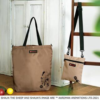MARMOT - ひつじのショーン × マーモット 2ポケットサコッシュバッグと2wayエコバッグ