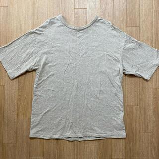 シールームリン(SeaRoomlynn)の本日限定価格 searoomlynn コットン2faceルーズT ヘザーベージュ(Tシャツ(半袖/袖なし))