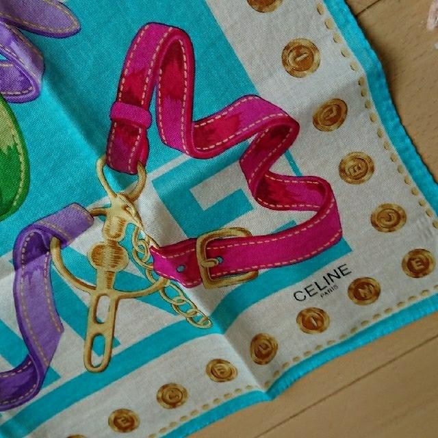 celine(セリーヌ)のセリーヌ ハンカチ 3枚セット レディースのファッション小物(ハンカチ)の商品写真