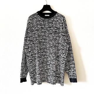 バレンシアガ(Balenciaga)のBALENCIAGA ウェーブロゴ オーバーサイズ Tシャツ(Tシャツ/カットソー(七分/長袖))