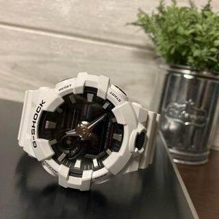 ジーショック(G-SHOCK)の箱付き G-SHOCK ホワイト(腕時計(アナログ))