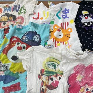 JAM - 中古  6枚セット  JAM  100cm  Tシャツ  半袖