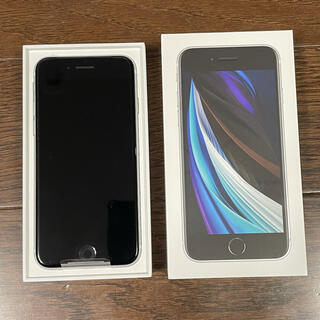 iPhone - 未使用 iPhone SE 第2世代 64GB ホワイト SIMロック解除