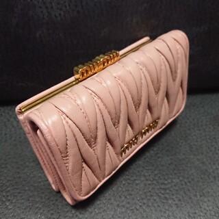 miumiu - 正規品/ミュウミュウ/がま口/お財布