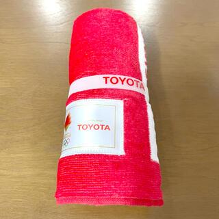 トヨタ - 新品 トヨタ オリンピック 2020 タオル TOYOTA 非売品 ノベルティ