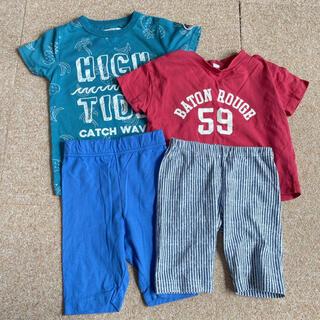 UNIQLO - 100-110サイズ【UNIQLO含む】Tシャツ2枚 スパッツ2枚セット