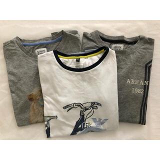 ARMANI JUNIOR - アルマーニジュニア Tシャツ 3枚 8/130