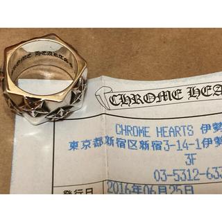 Chrome Hearts - クロムハーツ PENTAGON STAR RING(約14号弱)