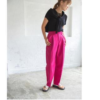 ZARA - 【@hidekanagao_×bohmalコラボ】ピンク パンツ