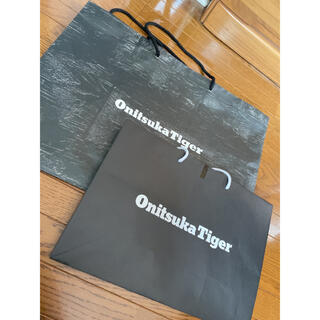 オニツカタイガー(Onitsuka Tiger)の新品♡オニツカタイガー♡ショッパー♡ショップ袋♡紙袋♡アシックス♡アディダス(ショップ袋)