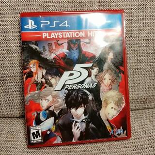PlayStation4 - 【英語版】 PERSONA 5 PS4