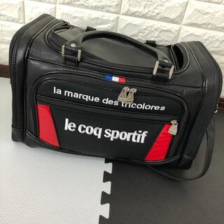 ルコックスポルティフ(le coq sportif)の収納ポケット付きボストンバッグ le coq GOLF(バッグ)
