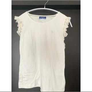 バーバリー(BURBERRY)のバーバリー Burberry 白Tシャツ ロゴTシャツ Tシャツ ブラウス(Tシャツ(半袖/袖なし))
