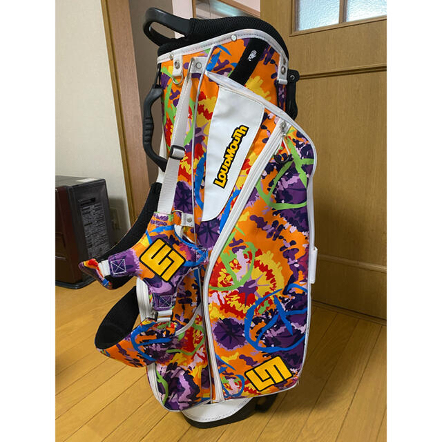 Loudmouth(ラウドマウス)のラウドマウス ゴルフスタンド型キャディーバッグ ヘッドカバーセット付 スポーツ/アウトドアのゴルフ(バッグ)の商品写真