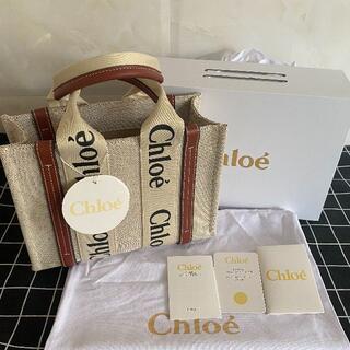 Chloe - Chloe クロエ ウッディ トートバッグ スモール ブラウン