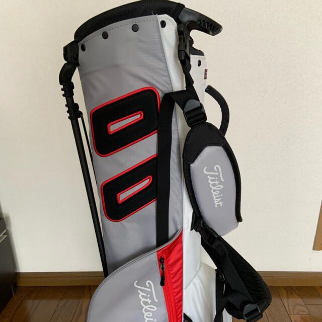 Titleist(タイトリスト)のタイトリスト キャディバック スポーツ/アウトドアのゴルフ(バッグ)の商品写真