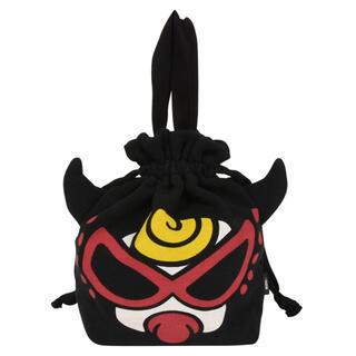 ヒステリックミニ(HYSTERIC MINI)のヒステリックミニ 巾着袋 バッグ ポーチ 小物入れ ブラック(ランチボックス巾着)