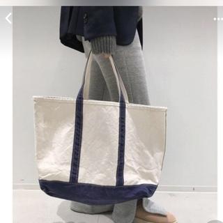 L'Appartement DEUXIEME CLASSE - L'Appartement L.L.Bean Canvas Tote Bag L