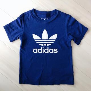 adidas - アディダス トレフォイル Tシャツ 青 100/110㎝